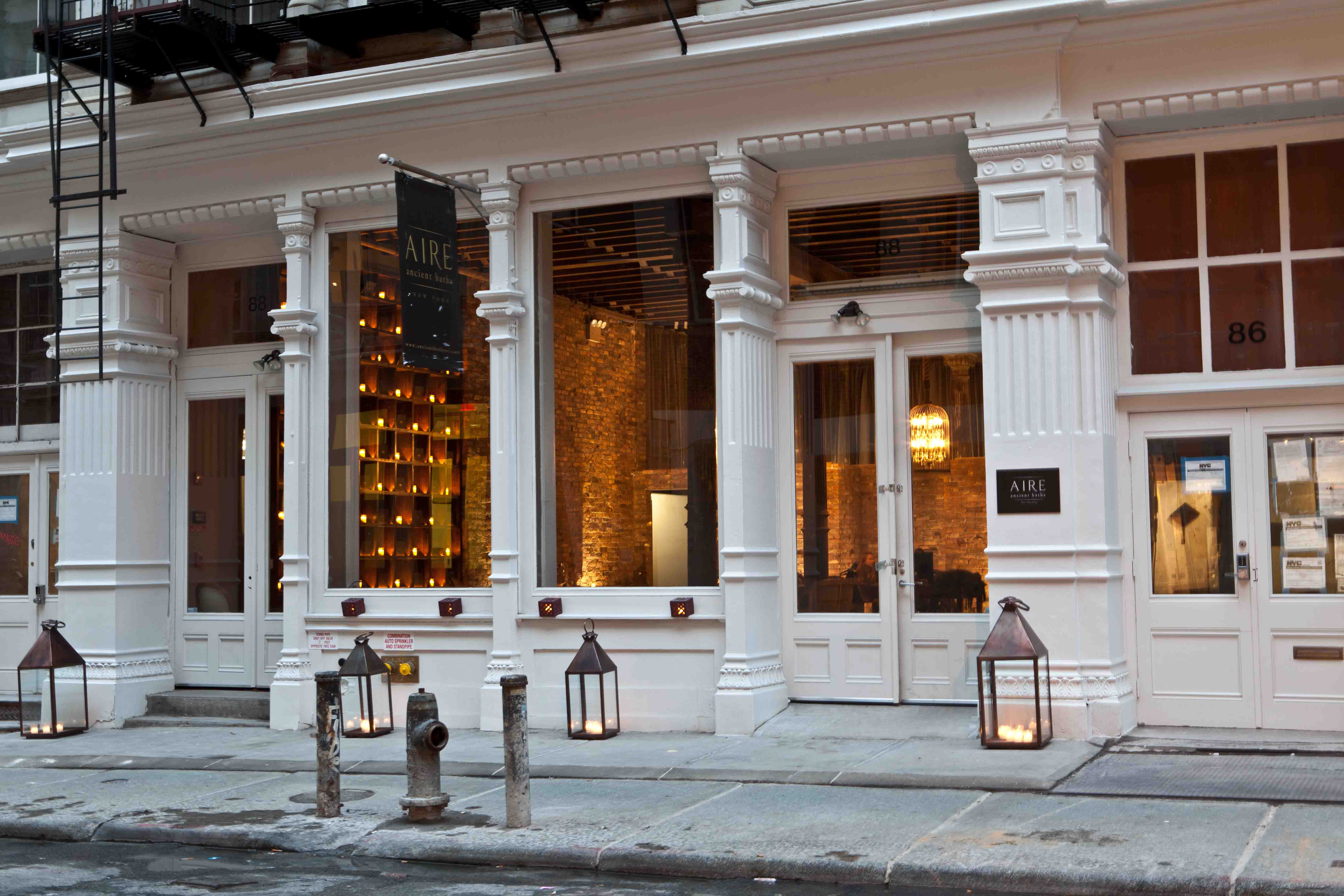 SPA BUCKET LIST Aire Ancient Baths New York City NY United States SP