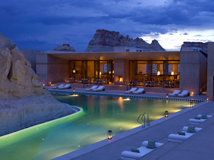 Spa bucket list aman spa amangiri resort canyon point for Best us spa resorts